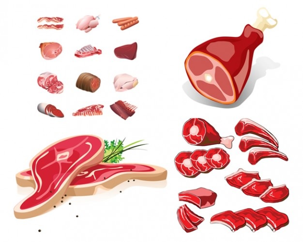 Meat drawing